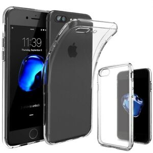 Funda-para-IPhone-Hibrido-de-Silicona-Piel-Clara-Transparente-Gel-TPU-Funda-6-7-8-X