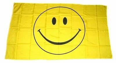 Fahne / Flagge Smile Smiley NEU 60 x 90 cm Fahnen