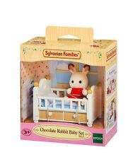 Sylvanian Families Set mobili & Figura 5017 Chocolate Coniglio Baby Set/3+