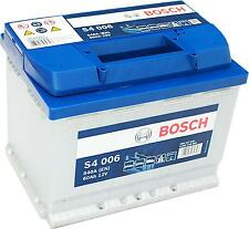 Bosch Silver S4006 12V 60Ah 540A Pluspol links inkl. 7,50€ Batteriepfand