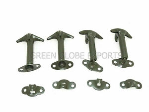 HOOD BONNET LATCH KIT MILITARY GREEN SET OF 4 Fit For WILLYS FORD JEEP
