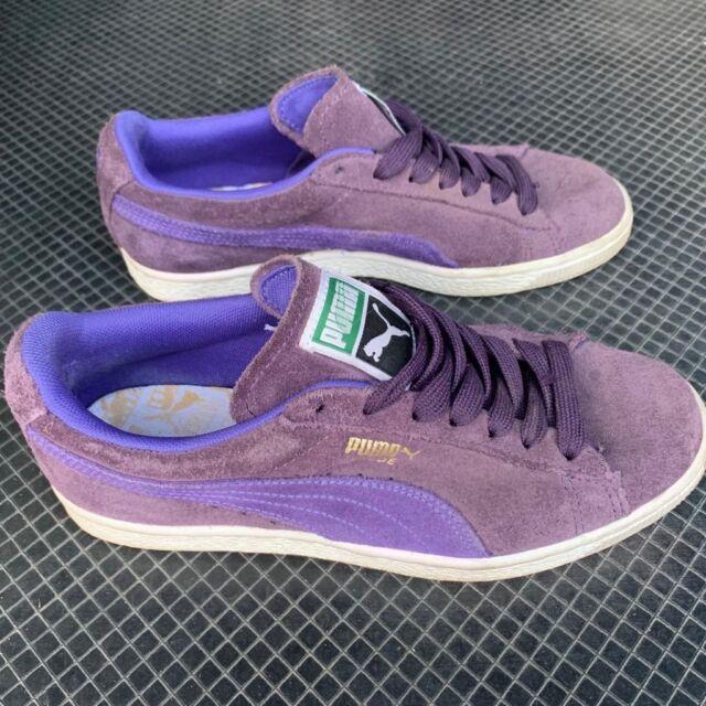 PUMA Women's Ladies Purple Suede Casual Sneaker Shoes US 7 EUR 37.5 UK 4.5