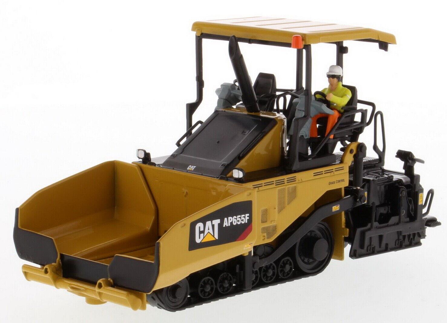 1 50 dm Caterpillar Cat AP655F Asfalto Pavimentación Diecast Modelo Colección  85590