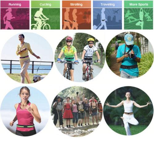 Unisex Bauchtasche Laufgürtel Handy Sport Jogging Bag Running Belt Gürteltasche Sporttaschen & Rucksäcke