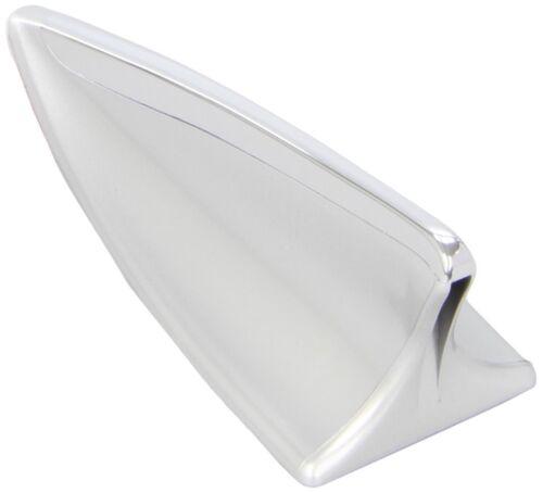 antenne de toit voiture gps décoratif chromé requin aérienne simulée fausse fin