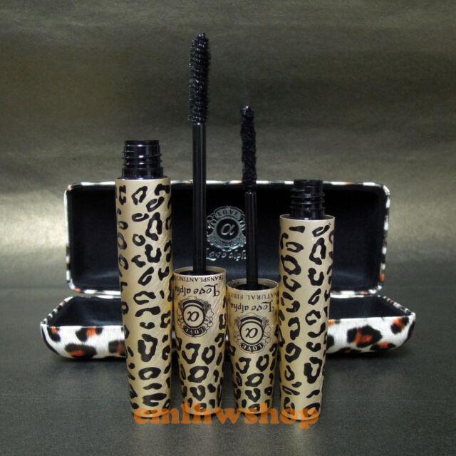 LOVE ALPHA Leopard Case Transplanting Gel & Natural Fiber Mascara Set (LA729)