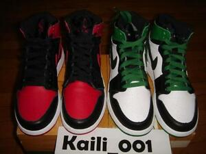 912bd00508d Nike Air Jordan DMP 1 Retro HIGH GS Sz 3.5Y Bred Boston Banned Royal ...