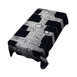Rectangulaire-Nappe-de-Table-Couverture-Impermeable-Embellissement-de-Table