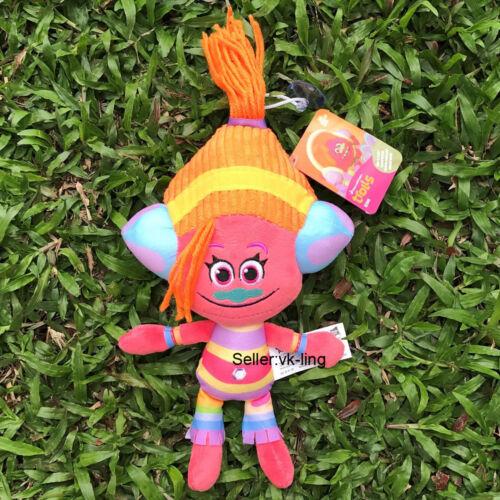 """DJ Suki 9.5/"""" DreamWorks Trolls película juguete de felpa adorable animal de Peluche Muñeca Suave"""