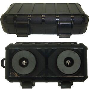 Magnetic Hidden Safe Stash Secret Storage Box Container for Car Van Truck Small