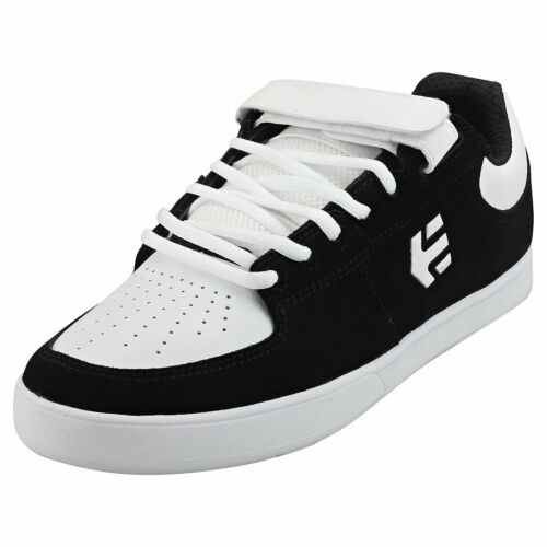 Etnies de Joslin 2 Hombre Negro Blanco Skate Zapatillas - 12 Reino Unido