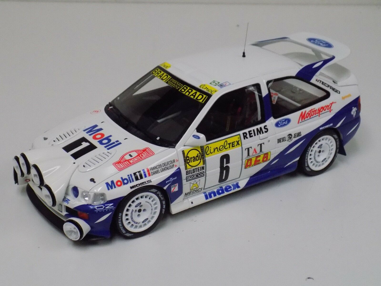 1 18 GT Spirit Otto Mobile Ford RS Cosworth 4x4 Gr A 1994 Monte Carlo OT534