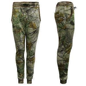 Pantalon-DEPORTIVO-para-Hombre-Camuflaje-Bosque-Skinny-Camo-Jogging-Pantalones-Gimnasio-Fondos-S-2XL