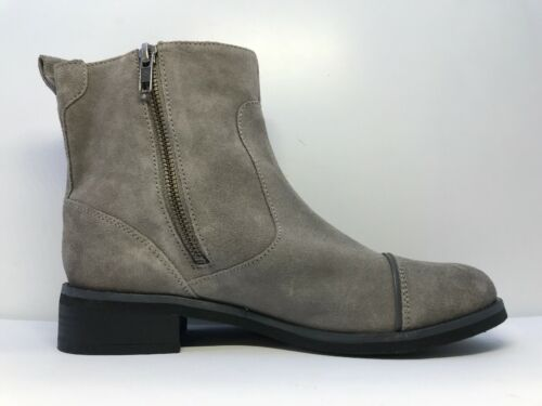 Zip Grey Uk Boots Size Madilynn Dry Super Sleek Fastening 4 Womens Suede qI7zY