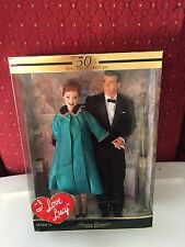 NRFB Collectible I Love Lucy BARBIE Doll Ricky Ricardo Lucy Is Enciente-Pregnant