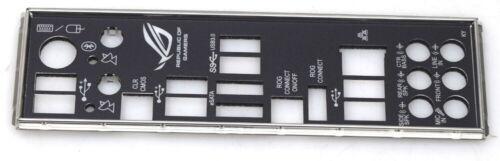 ASUS ioa-02013-t0 Atx pannello I//O Shield per Rampage III Black Edition NUOVO