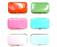 6pcs Pedicure/Manicure Care Set Nail Clippers Cleaner Cuticle Grooming Kit Case