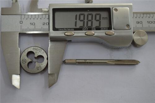 1pcs tap M4 × 0.5 1pcs die M4 × 0.5       M4 right hand