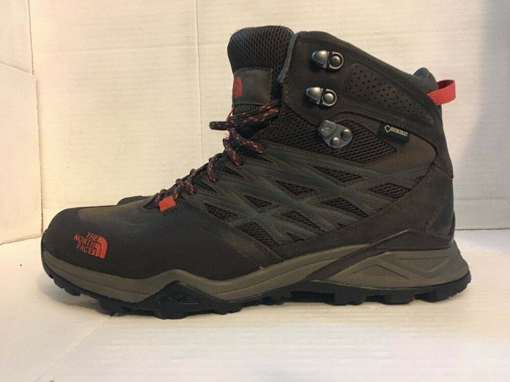 The North Face  Men's Hedgehog Hike Mid GTX Morel Brown orange Rust Size 9  for your style of play at the cheapest prices