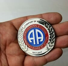 """82nd Airborne Division ANNIVERSARY All American CHALLANGE COIN 2.25"""" ***IN STOCK"""