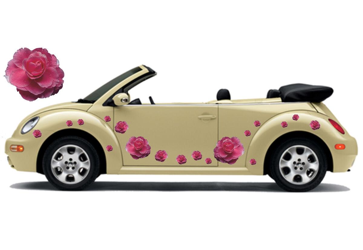 Voiture Autocollant Set Hibiskus Fleurs Autocollant 07 Papillon Points-Flower set 07 Autocollant 8e43e3