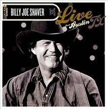 Live from Austin TX [3/26] [CD & DVD] by Billy Joe Shaver (CD, Mar-2012, 2...