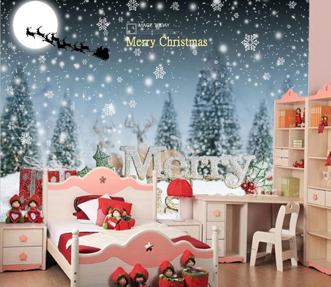 3D Weihnachtsstimmung 3898  Fototapeten Wandbild Fototapete BildTapete Familie