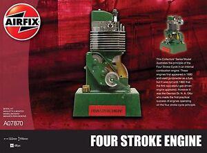 Airfix Four Stroke Engine Viertaktmotor Ottomotor Bausatz Model Kit