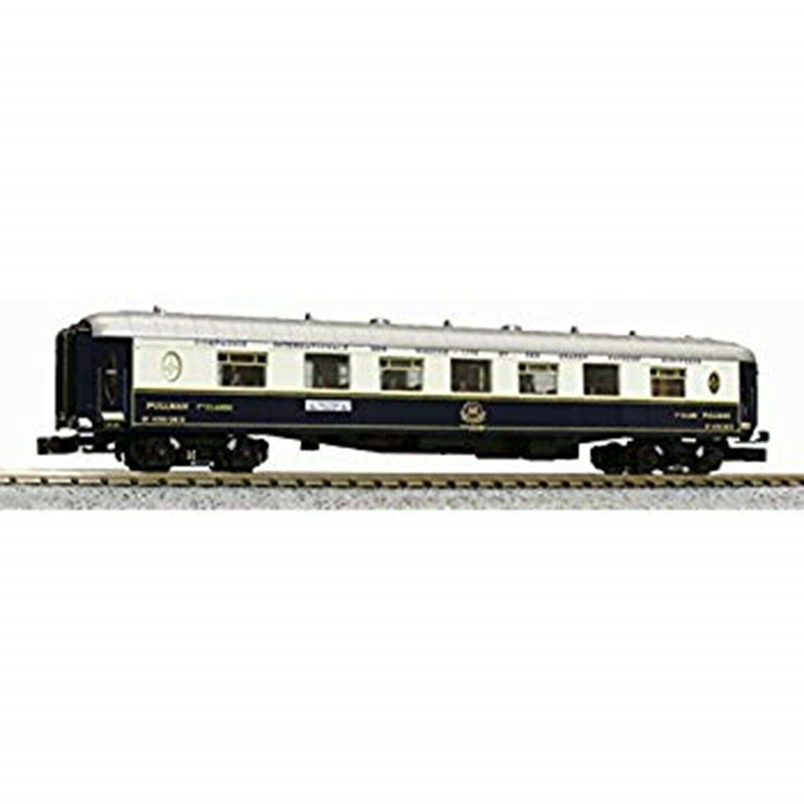 Kato N Calibre Orient Express 1988 7-Coche básica Set 10-561 modelo del ferroCocheril Pass Usado