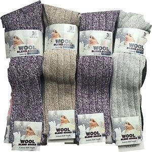 3-pair-ladies-boot-wool-blend-socks-hiking-walking-long-wam-for-winter-wellie-SE