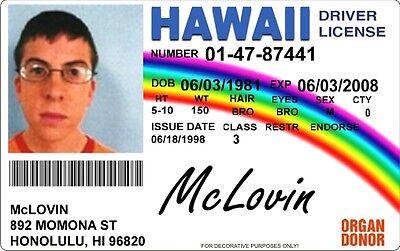 Mclovin Ausweis