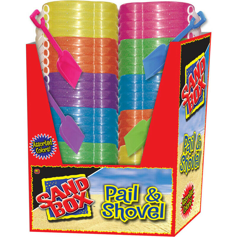 Sand Box  Sand Toys Pail and Shovel  Plastic  2 pc.