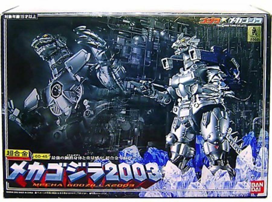 Bandai Cogokin Mecha Godzilla 2003 GD-45 Super Aleación Figura Acción de Japón