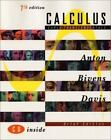 Calculus, Early Transcendentals by Stephen Davis, Irl Bivens and Howard Anton (2001, Hardcover, Brief Edition)
