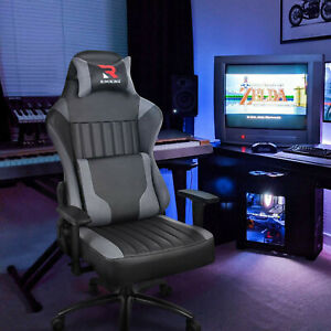 High-Back-Ergonomic-Swivel-Computer-Racing-Executive-Leather-Desk-gaming-Chair