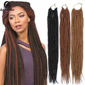 18 3 color crochet braiding hair senegalese twist hair