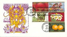SC# 4623 GREAT CHINESE NEW YEAR COMBO FDC COVER, YEAR OF THE DRAGON, 1/23/2012
