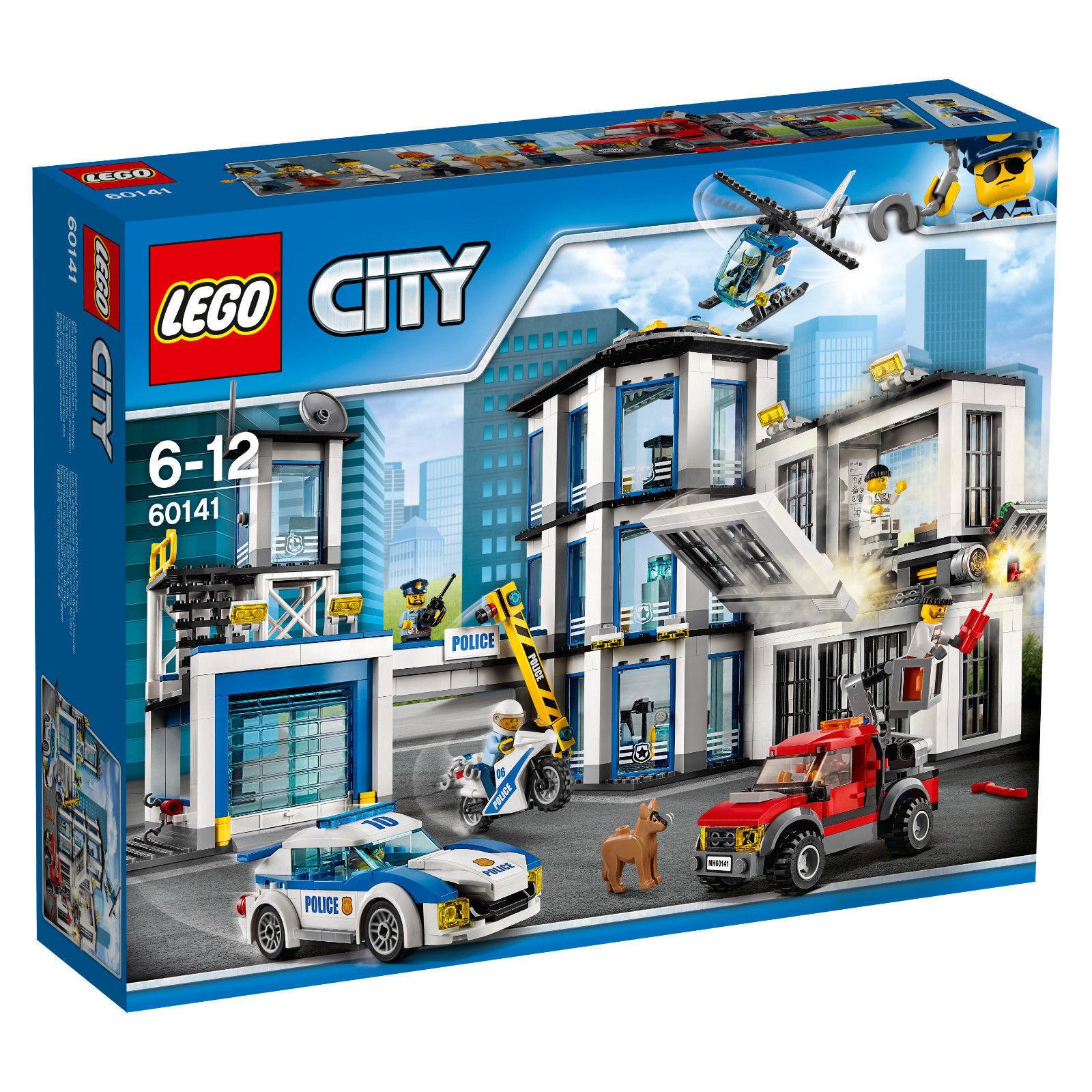 Lego City 60141 - Polizeiwache Police Station NEU