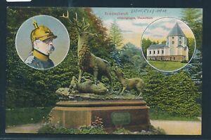 Raisonnable 35031) Ak Friedrichsruh Bismarck Mbk 1908 + Bahnpost Berlin-hambourg Train 4848-afficher Le Titre D'origine ModèLes à La Mode