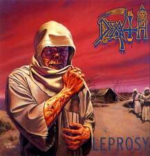 Death - Leprosy LP - NEW COPY - Death Metal Classic - Black Vinyl