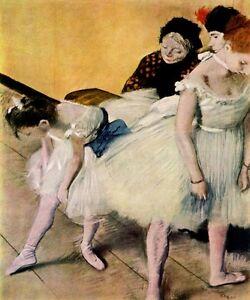 Degas Dancer Seated various sizes fine art giclee print poster ballet