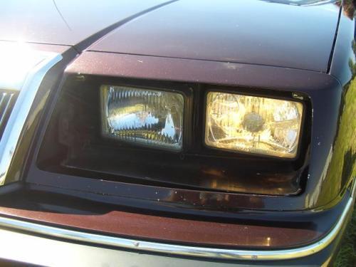 /> EURO E-prüfzei 4x phares NEUF h4 h1 Chrysler LeBaron 77-92 Laser 83-88 US