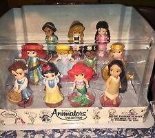 Disney Store Animators Deluxe Playset  11-piece figurine set / cake toppers NIB