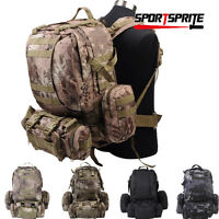 Tactical Large Assault Backpack Heavy-duty Military Molle Backpack Duty Day Pack