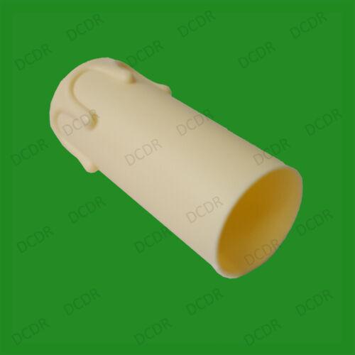 5x Ivoire égouttement Bougie Cire Effet Chandelier Ampoule Cover Housse 55 mm x 27 mm
