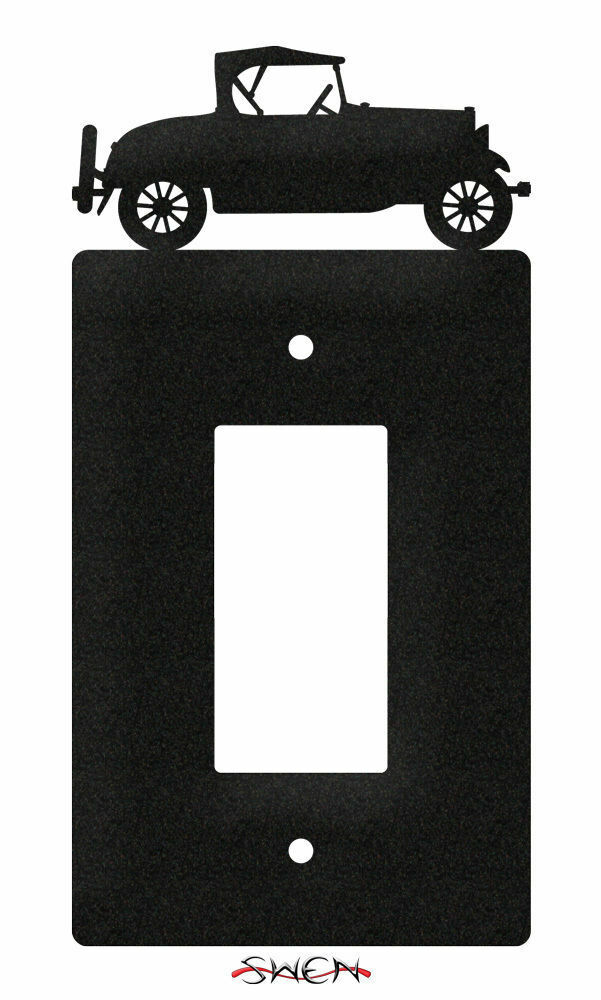 SWEN Products CAR OLD MODEL A AUTO Light Switch Plate Covers