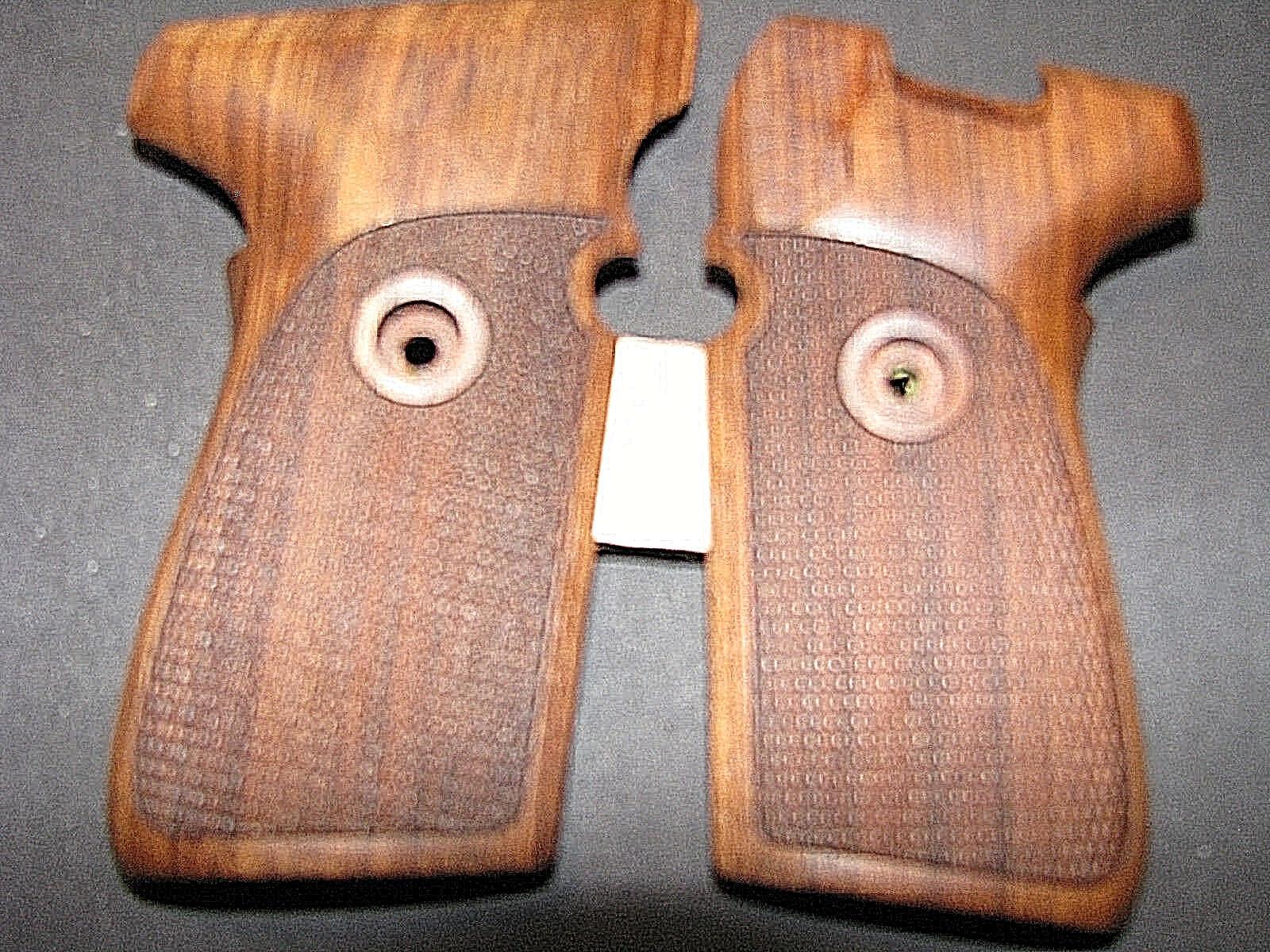 Pistola apretones para SIG P239 239 Nogal completamente a Cuadros RARA Hermosa
