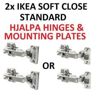 new arrival d2ffe dd016 Details about 2 X IKEA HJÄLPA SOFT CLOSE OR Standard hinges 603.312.00  HJALPA fits PLATSA
