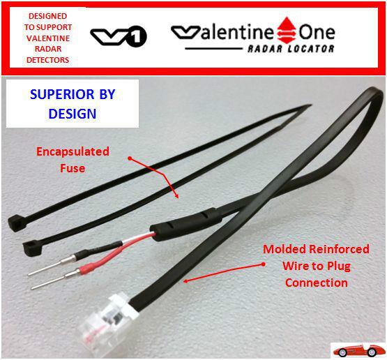 V1 Radar Detector Mirror Cord Valentine One Mp Online Ebay