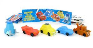 DISNEY CARS de société Bauli. tous les 5 modèles papier et autocollant-afficher le titre d`origine 0f8GXGde-09173218-772134986